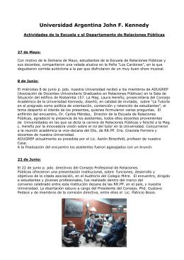 Universidad Argentina John F. Kennedy