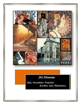 ArtNouveau-Informe - Historia de la Arquitectura USPS