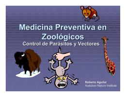 Medicina Preventiva en Zoologicos