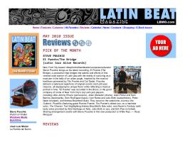 LBMO.com - Latin Beat Magaz