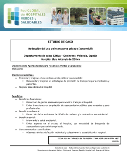 estudio de caso - Global Green and Healthy Hospitals