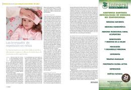 Las bronquitis de repetición en niños
