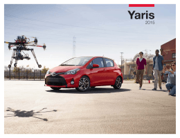 2015 Toyota Yaris eBrochure (Español)