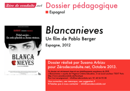 Blancanieves - Cinéma Alain Resnais