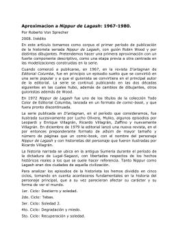nippur_vonsprecher - Estudios y Crítica de la Historieta Argentina