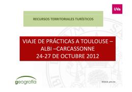 viaje de prácticas a toulouse – albi –carcassonne 24