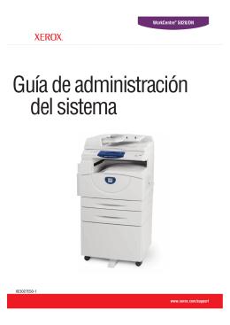 Guía de administración del sistema