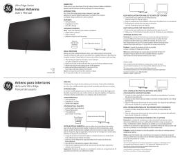 Indoor Antenna Antena para interiores