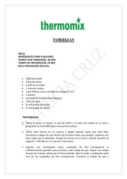 TORRIJAS - Delegación Thermomix en Sabadell