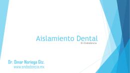 Aislamiento Dental