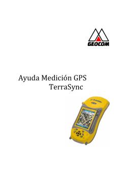 Medir con Terrasync QB