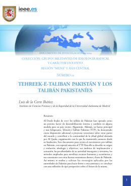 Tehreek-e-Taliban Pakistán y los Talibán Pakistaníes
