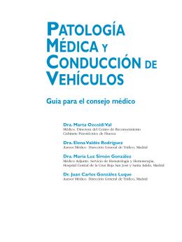 2.1.- DGT patología médica y conducción de