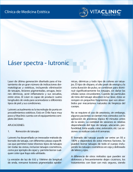 Láser spectra - lutronic