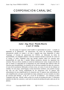 CORPORACIÓN CARAL SAC Autor : Ing. Oscar Pineda Huerta CIP