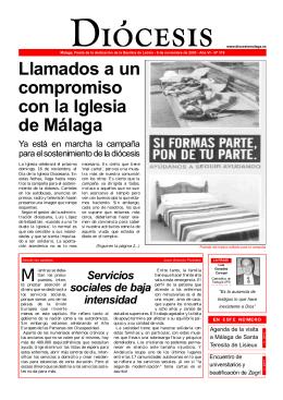 Diócesis Málaga Nº 319