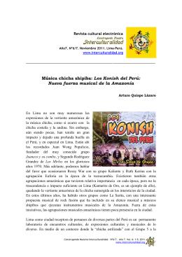 Quispe Lazaro_Musica chicha shipiba_Los-Konish-del