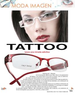 tattoo lanza una mirada adictiva