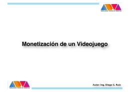 Monetización de un Videojuego