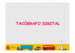 Tacógrafo digital