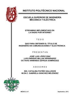 Objetivo General - Instituto Politécnico Nacional