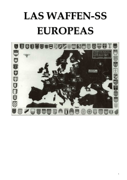LAS WAFFEN-SS EUROPEAS