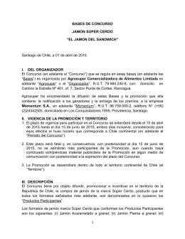 Bases El Jamon del Sandwich Supercerdo (3 Versión) 06.04
