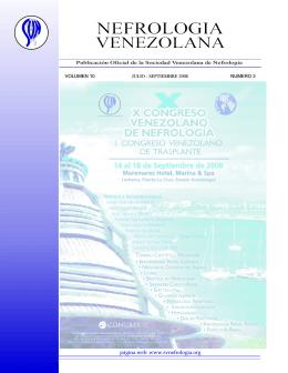 Revista Nefrología Venezolana Julio