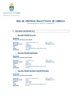 RED EDUCATIVA DE LEBRIJA 1