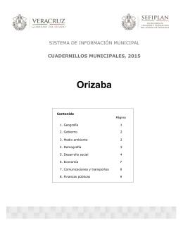 Orizaba - Gobierno del Estado de Veracruz