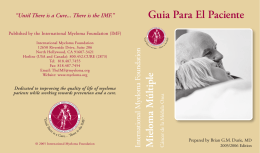 Guia Para El Paciente - International Myeloma Foundation
