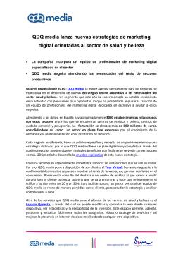 Estrategias de marketing digital orientadas al sector