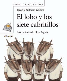 El lobo y los siete cabritillos (primeras páginas)
