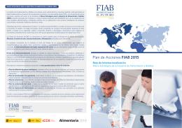 PLAN ACCIONES FIAB 2015