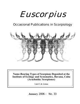 Euscorpius - Marshall University