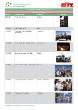 Córdoba - Instituto Andaluz del Patrimonio Histórico