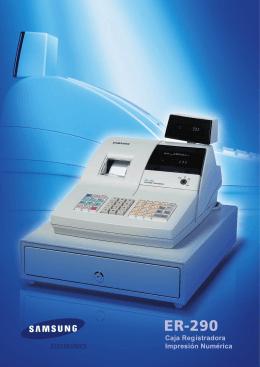 Catálogo SAM4S ER-290