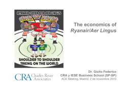 Ryanair / Aer Lingus - IESE Business School