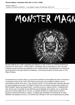 Monster Magnet - Barakaldo (Rock Star Live 29-11