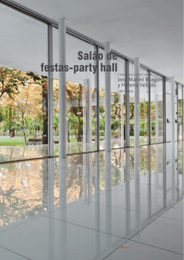 Salão de festas-party hall
