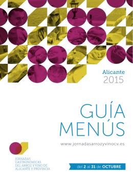 Alicante - Jornadas gastronómicas del arroz y vino de la Comunidad