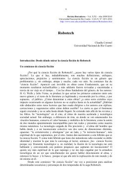 Coronel, Claudia : Robotech - Universidad Nacional de Río Cuarto