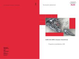 325 AUDI A6 2005: Grupos mecánicos