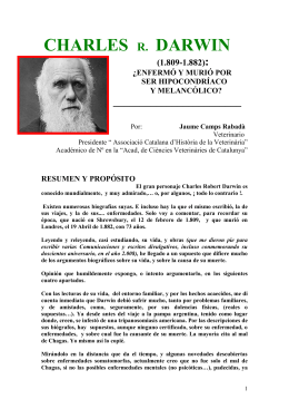 CHARLES DARWIN :