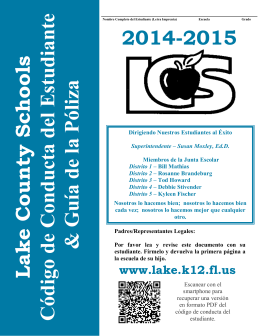 2014-2015 - Lake County Schools