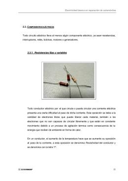 2.3. componentes eléctricos