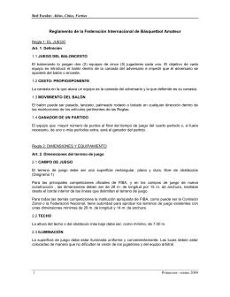 Reglamento FIBA