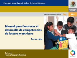 Manual para favorecer el desarrollo de competencias de lectura y