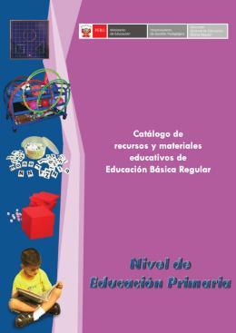 Catálogo de recursos y materiales educativos de Educación Básica