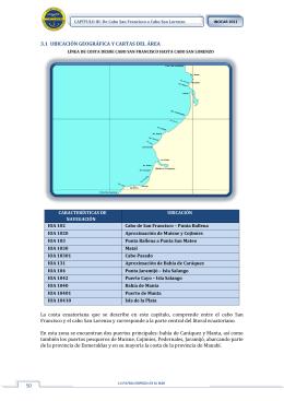CAPÍTULO III: De Cabo San Francisco a Cabo San Lorenzo
